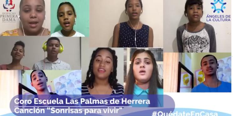 """Ángeles de la Cultura une sus voces para llevar alegría y """"Sonrisas para vivir"""" en medio de Covidianidad"""