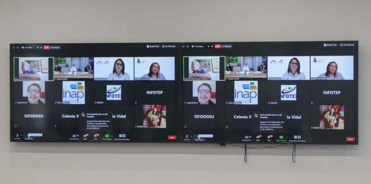 Director del INFOTEP asegura formación virtual llegó para quedarse y es preciso cerrar la  brecha digital