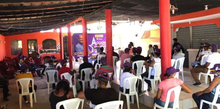 Acción 2020 juramenta coordinadores en Azua y los insta a trabajar día y noche para que Gonzalo Castillo gane en primera vuelta este cinco de julio.
