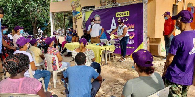 Movimiento Acción 2020 trabaja para aportar más de 40 mil votos a Gonzalo Castillo este 5 de julio
