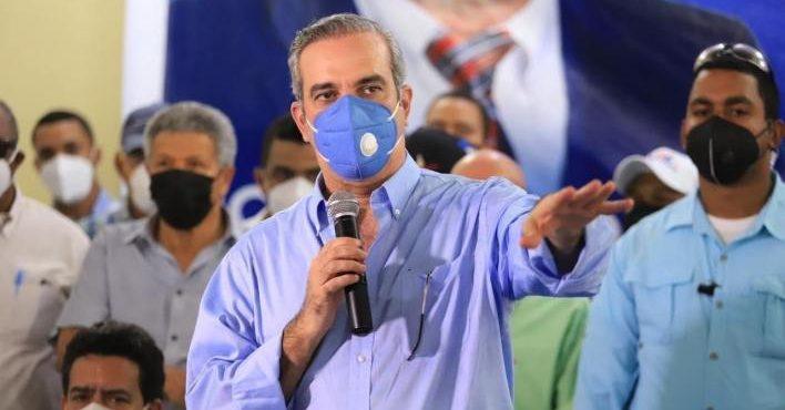Luis Abinader agradeció al pueblo dominicano por darle un voto de confianza