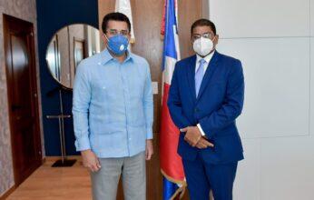 David Collado acuerda agenda de trabajo institucional con Adompretur en temas de prensa y turismo