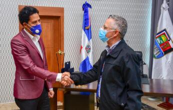 Alcalde SDE se reúne con Viceministro Bonny Cepeda; hablan sobre proyectos culturales