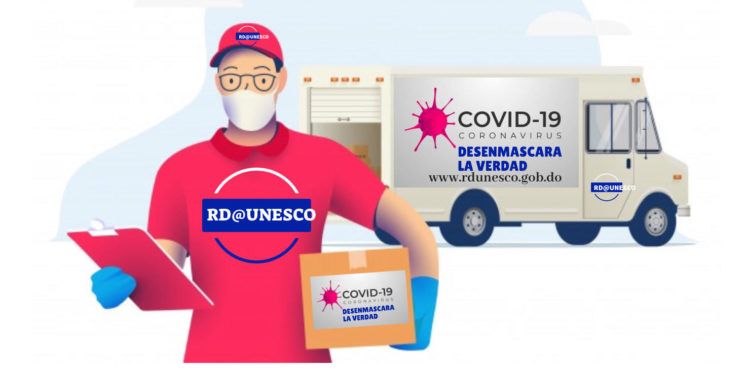 "Frente al COVID-19 RD UNESCO  lanza campaña ""Desenmascara la verdad"", busca frenar noticias falsas"
