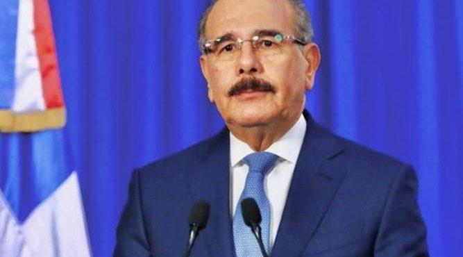 """Cumplí todo lo que prometí"""": Danilo Medina agradece al pueblo dominicano por haberle permitido servirle"""""""