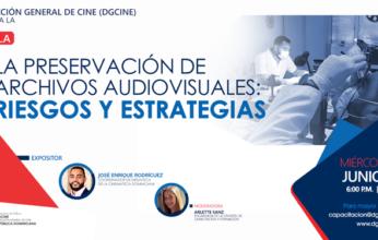 """La Dirección General de Cine (DGCINE) invita a la charla  """"La preservación de archivos audiovisuales: riesgos y estrategias"""""""