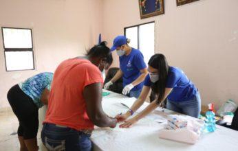 Despacho de la Primera Dama lleva soluciones de salud e insumos médicos a los municipios de Durvergé, Jimaní, Villa Jaragua, Los Ríos y La Descubierta