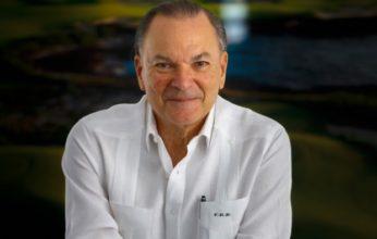 Frank Rainieri en el VI conversatorio de ADOMPRETUR