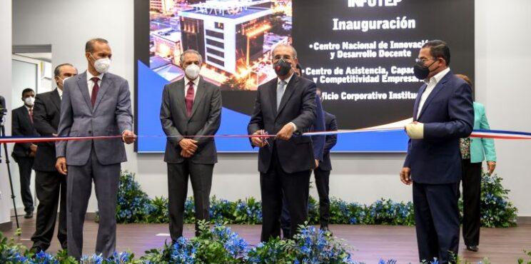 Presidente Medina encabezó inauguración Edificio Corporativo del INFOTEP con Centros Virtual, Docente y Asistencia Empresarial