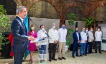 Presidente anuncia transformación de la Ciudad Colonial