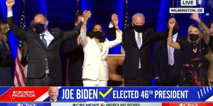 Joe Biden es el presidente electo de Los estados Unidos