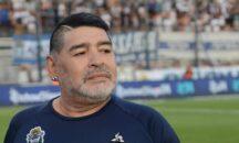 Gran conmoción en sepelio de Diego Maradona