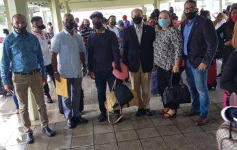 Grupo de 50  dominicanos regresa en segundo vuelo organizado por la Embajada dominicana en Trinidad y Tobago