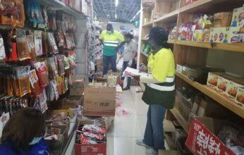 Autoridades decomisan productos cárnicos en el Barrio Chino