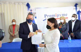 Promipyme otorga préstamos de más de RD$8 millones empresarios de Los Mina