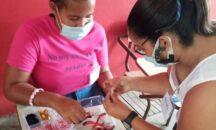 """""""Red de Jóvenes Madres de El Cajuil""""  En el 2021 continuarán los cursos talleres de bisutería"""
