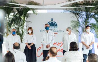 Presidente Abinader y director del INVI dejan en funcionamiento nuevas áreas del hospital Cabral y Báez
