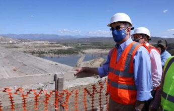 Presidente anuncia la terminación de la presa Monte Grande para agosto del próximo año