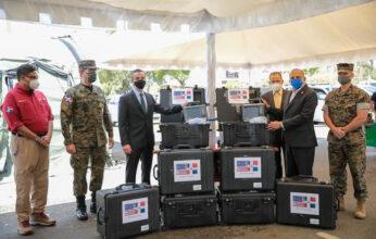 El Gobierno de los Estados Unidos dona ocho ventiladores en apoyo a la lucha contra el COVID-19