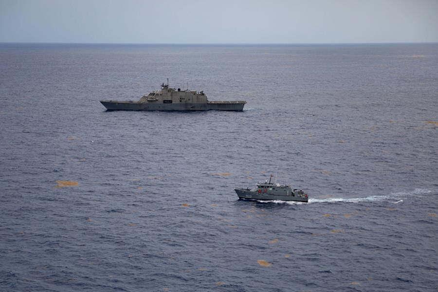 Los Estados Unidos y la República Dominicana realizan ejercicio de interdicción bilateral en el Caribe