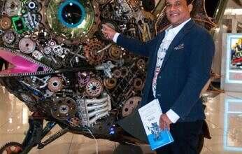Galería 360 inaugura exhibición de esculturas sdel artista Nelson Barrera