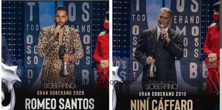 Los Ganadores de Premios Soberano