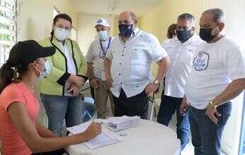 NFOTEP participa en la Jornada Regional de Vacunación contra el Covid-19 en el Este, Sur y Monte Plata