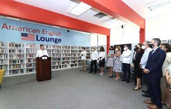La Embajada de los EE. UU. y el Centro Cultural Domínico-Americano inauguran el segundo American English Lounge