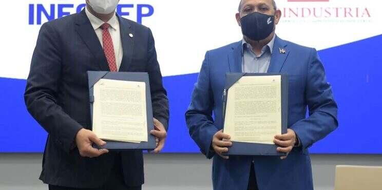 NFOTEP y PROINDUSTRIA firman acuerdo para impulsar productividad y competitividad en el sector industrial, de cara a la revolución 4.0