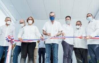 Presidente Abinader y Ministro Bonilla entregan Centro de Diagnóstico y Atención Primaria en Haina