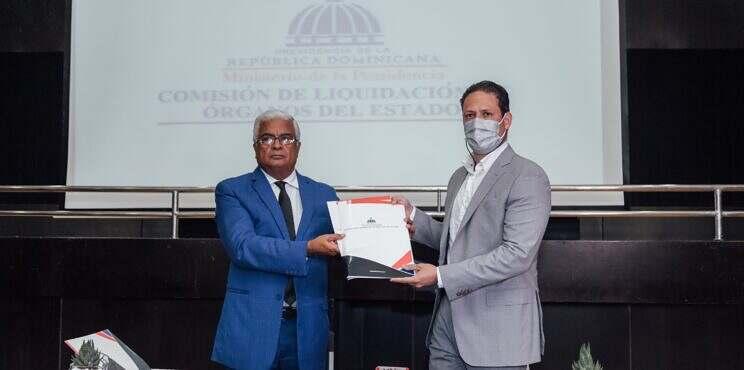 Comisión Liquidadora de Órganos del Estado formaliza entrega de Obras OISOE al MIVHED